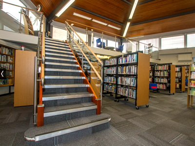 The new refurbished Sidmouth Library