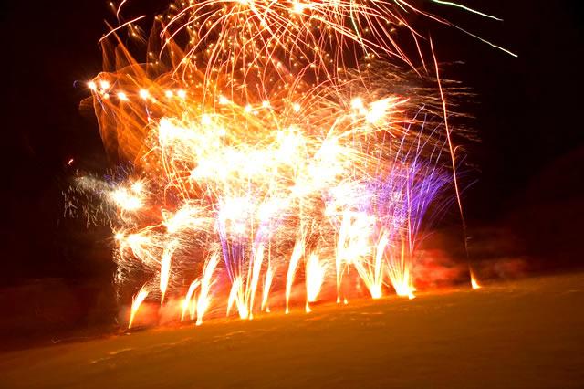Incredible Fireworks display.