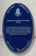 Sidmouth Lifeboat Station